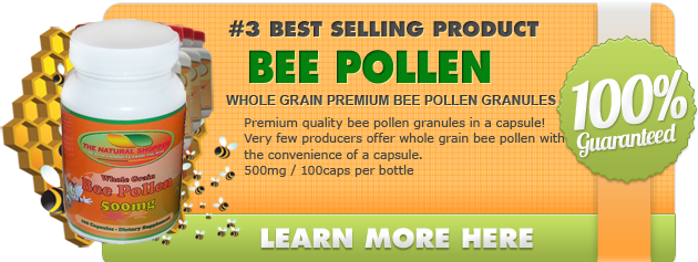 Bee Pollen granules - Learn more at The Natural Shopper's website